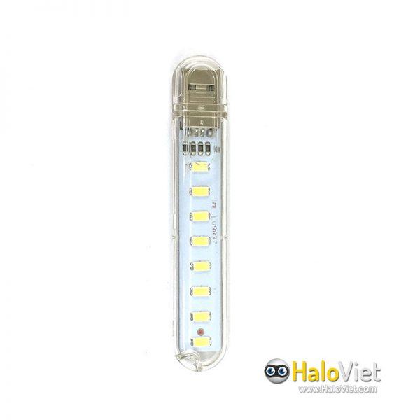 Đèn led 8 bóng siêu sáng cắm cổng USB - 1