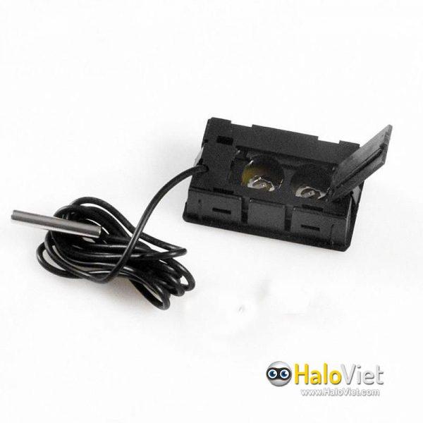 Đồng hồ đo nhiệt độ cảm biến chống nước màn hình LCD - 5