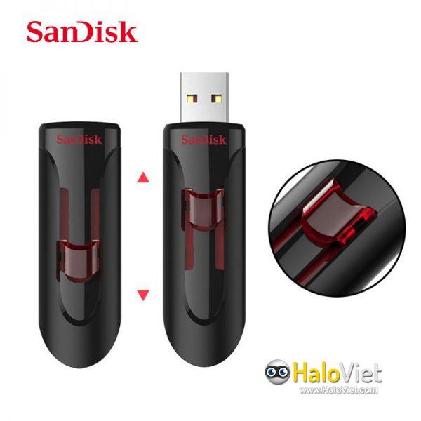 USB 3.0 SanDisk CZ600 16GB (Hàng Chính Hãng) - 3