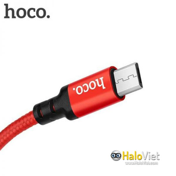 Cáp sạc nhanh dây dù Hoco X14 Micro USB - 6