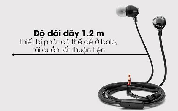 Tai nghe EP Sony MDR-EX15AP (Hàng Chính Hãng) - 6