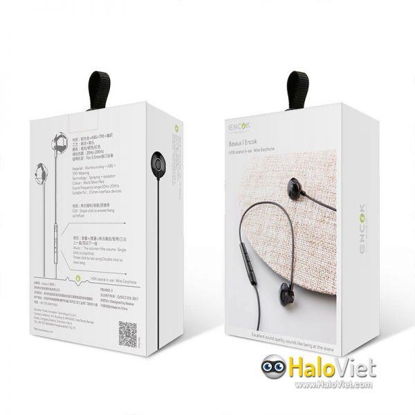 Tai nghe In-Ear Baseus Encok H06 Lateral - 8