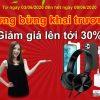 Tưng bừng khai trương cửa hàng Halo Việt giảm giá lên tới 30%