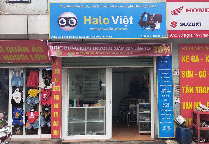 Cửa hàng Halo Việt