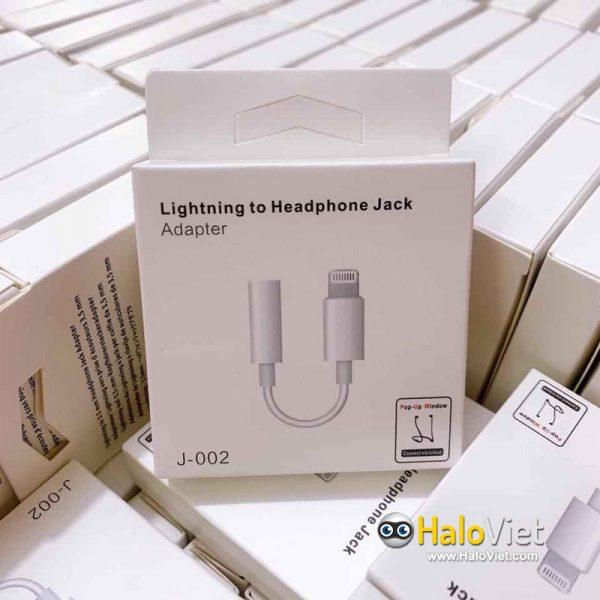 Cáp chuyển đổi Lightning sang 3.5mm J-002 - 2