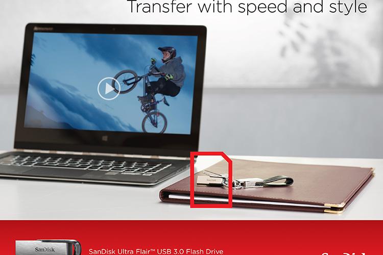 USB 3.0 Sandisk Ultra Flair CZ73 16GB - Hàng chính hãng - 6