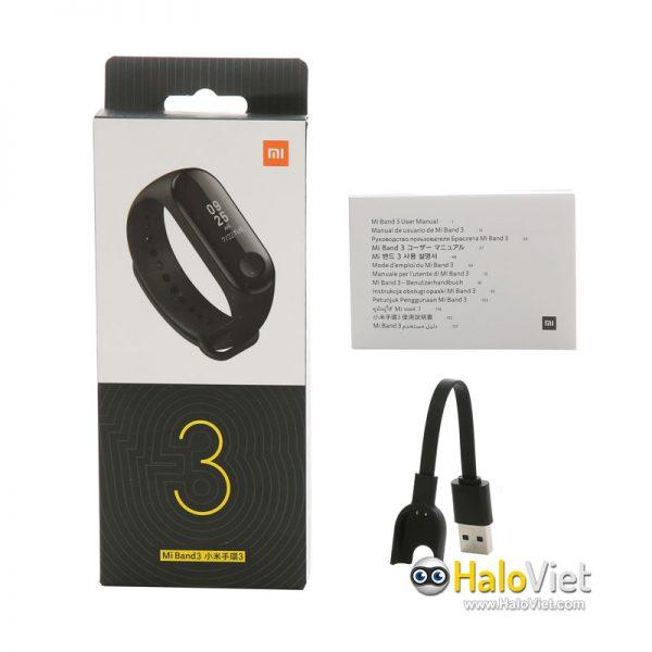 Vòng đeo tay thông minh Xiaomi Mi Band 3 - 5