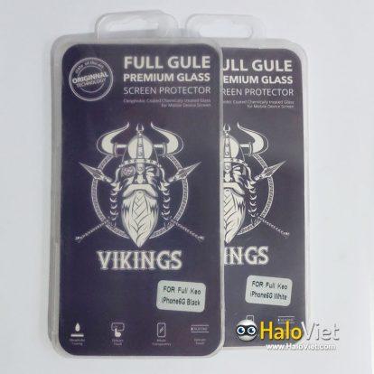 Kính cường lực full keo 9D Vikings cho iPhone 6/6s - 1