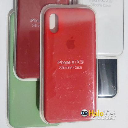 Ốp chống bẩn nhiều màu cho iPhone X/Xs - 1