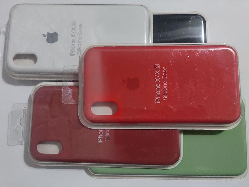 Ốp chống bẩn nhiều màu cho iPhone X/Xs - 4