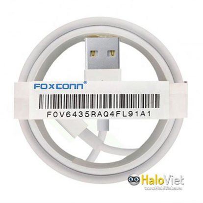 Cáp sạc Foxconn 3IC Lightning - 1