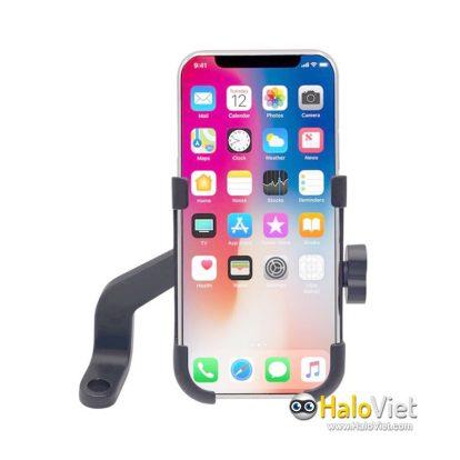Kẹp điện thoại trên xe máy hợp kim nhôm cao cấp C2 - 1