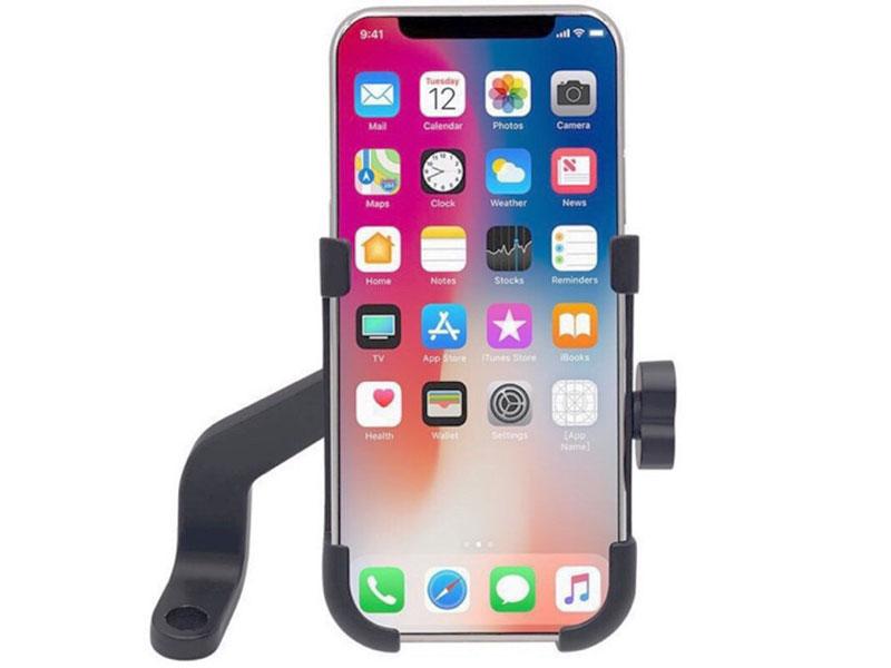 Kẹp điện thoại trên xe máy hợp kim nhôm cao cấp C2 - 5
