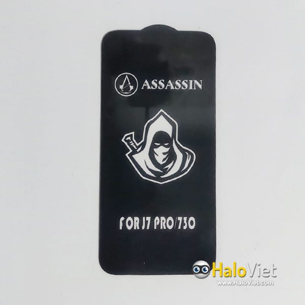 Kính cường lực full màn hình Assassin cho Samsung Galaxy J7 Pro - 2