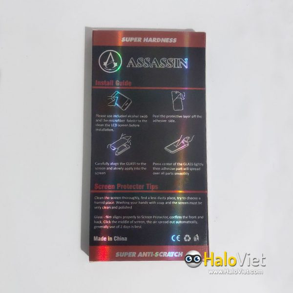 Kính cường lực full màn hình Assassin cho Samsung Galaxy J7 Pro - 3