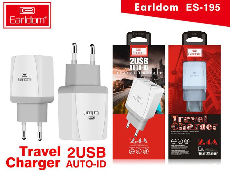 Sạc nhanh 2 cổng Earldom ES-195 - 3