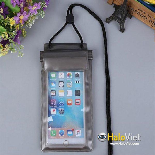 Túi chống nước bảo vệ điện thoại 3 lớp cao cấp - 2