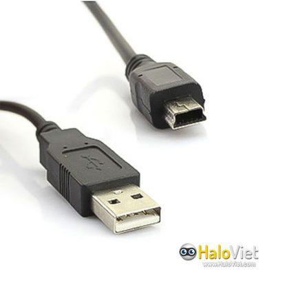 Cáp chuyển USB 2.0 ra Mini USB hình thang - 1