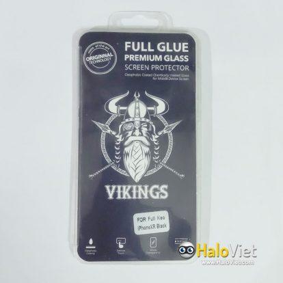 Kính cường lực full keo 9D Vikings cho iPhone Xr - 1