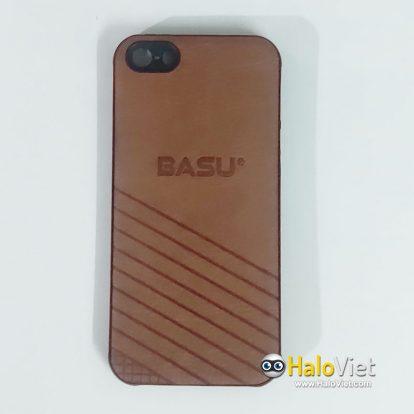 Ốp da Basu cho iPhone 5/5S - 1