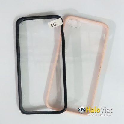 Ốp trong viền màu cho iPhone 6/6s - 1